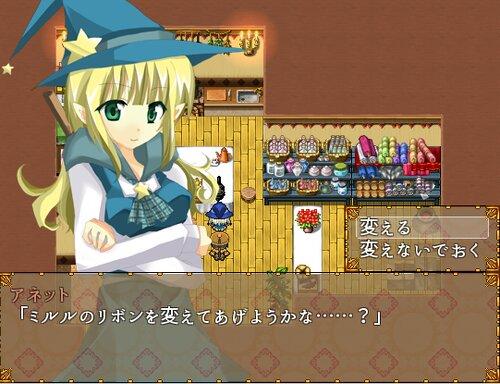 クロネコノリボン Game Screen Shot