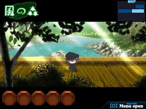闇夜の森と帝国兵 Game Screen Shot4
