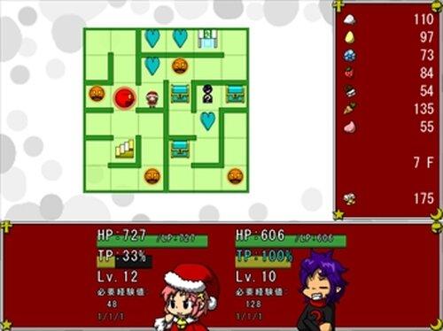 タワー・オブ・ゴールデンウルフ ~ミコのクリスマスけいかく2018~ Game Screen Shot2