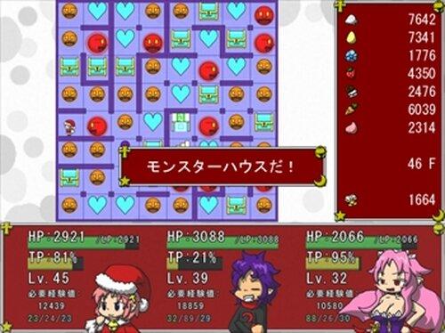 タワー・オブ・ゴールデンウルフ ~ミコのクリスマスけいかく2018~ Game Screen Shots