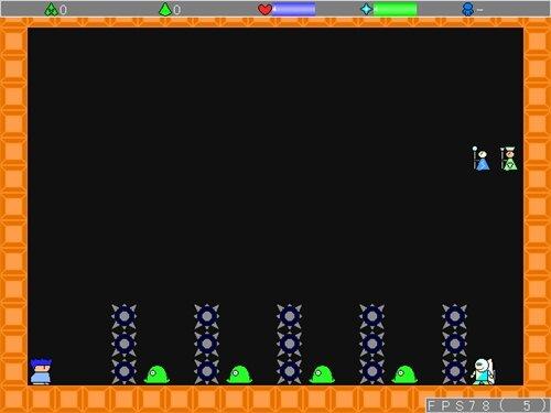 アオーユの年末鬼畜アクション! Game Screen Shot1