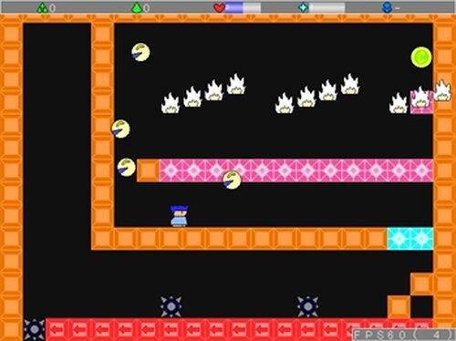 アオーユの年末鬼畜アクション! Game Screen Shots