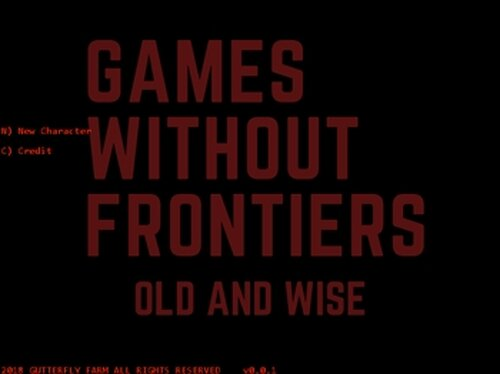 Games Without Frontiers : Old and Wise Game Screen Shot2