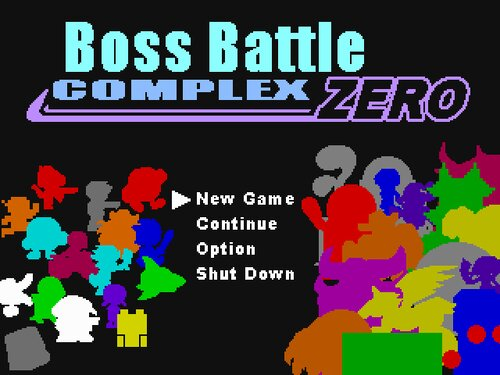 ボスバトルコンプレックス・ゼロ(BossBattle Complex ZERO)ver1.148 Game Screen Shots