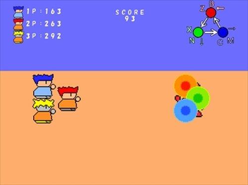 早撃ちバトルゲーム Game Screen Shots