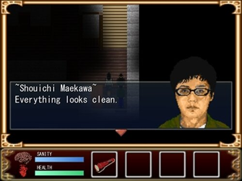 Siryou no yasiki ~The Cursed House~(死霊の屋敷英語版) Game Screen Shot2