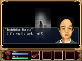Siryou no yasiki ~The Cursed House~(死霊の屋敷英語版) Game Screen Shot4