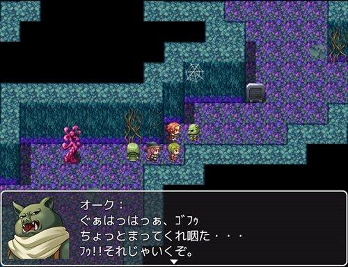 模作して作った戦闘RPGの001 Game Screen Shot