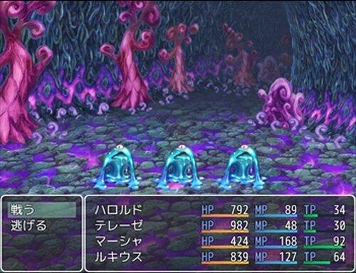 模作して作った戦闘RPGの001 Game Screen Shot2