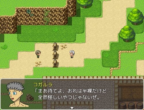 人々を半裸にするRPG Game Screen Shot1