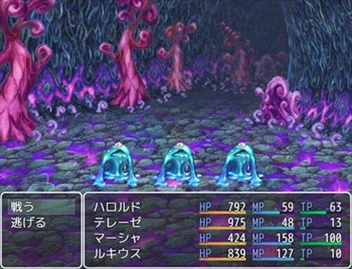 模作して作った戦闘RPGの001 Game Screen Shot3