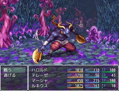 模作して作った戦闘RPGの001 Game Screen Shots
