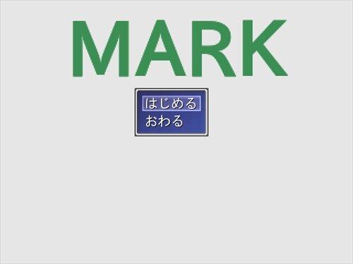 MARK Game Screen Shot