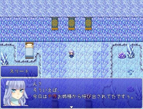 スリートちゃんの大冒険!【ブラウザ版】 Game Screen Shot1