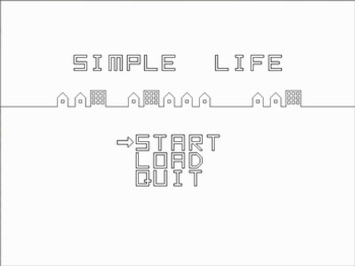 SIMPLE LIFE Game Screen Shots
