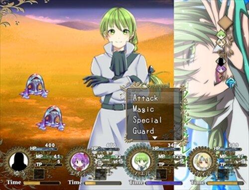 【DL版】リーフィ村へようこそ! Game Screen Shot5
