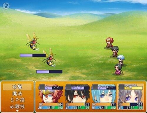 リーフィ村くえすと! Game Screen Shot3