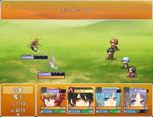 リーフィ村くえすと! Game Screen Shots