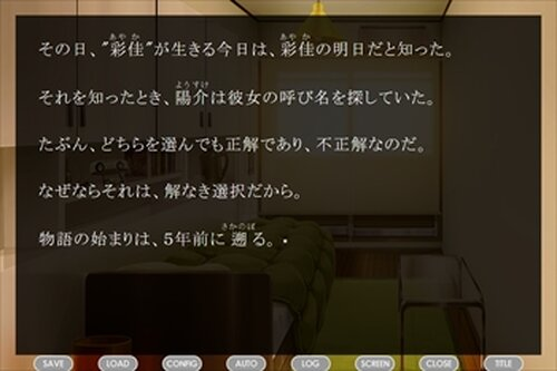 解なき選択 Game Screen Shot5