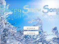 Sleepy Snow Song