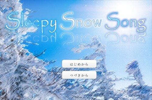 Sleepy Snow Song Game Screen Shots