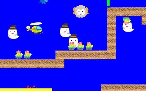 ヘリとおばけと水晶と Game Screen Shot1