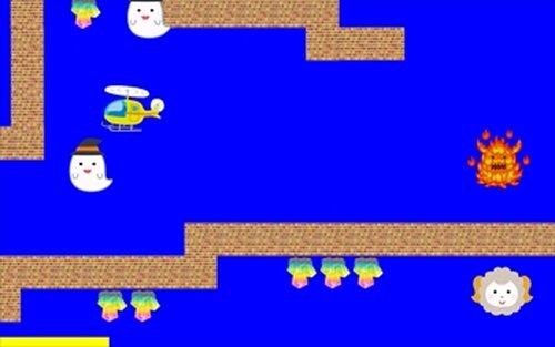 ヘリとおばけと水晶と Game Screen Shots