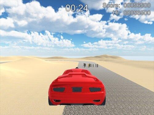 爆走!デンジャラスドライブ Game Screen Shot1