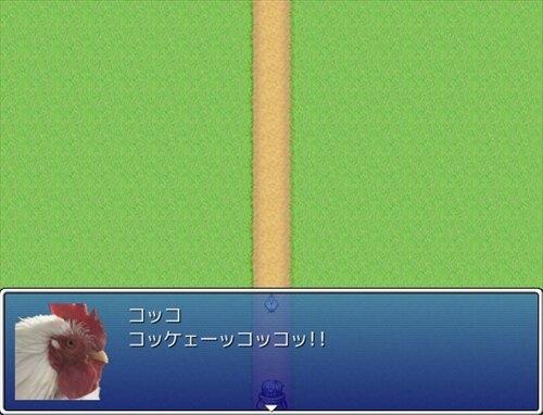 逃げろコッコ!! Game Screen Shot