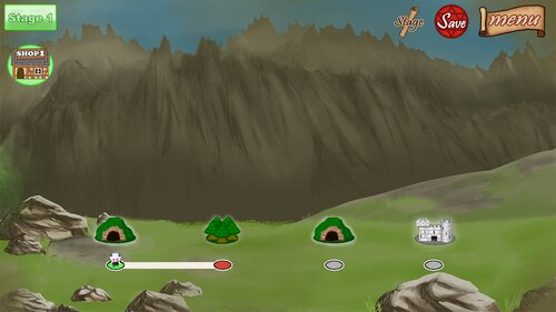 Creation of Dungeon Game Screen Shot3