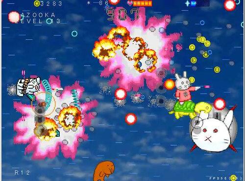 ネコバズーカ・アーケード Game Screen Shot2