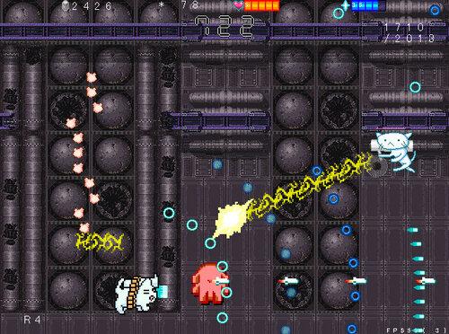 ネコバズーカ・アーケード Game Screen Shots