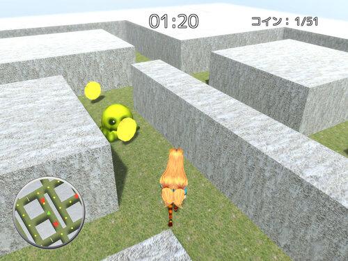 コインを集めて!ユニティちゃん Game Screen Shot1