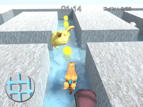 コインを集めて!ユニティちゃん Game Screen Shot5