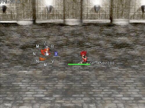 『男無双打!戦闘実験版』 Game Screen Shot2
