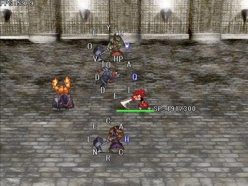 『男無双打!戦闘実験版』 Game Screen Shots