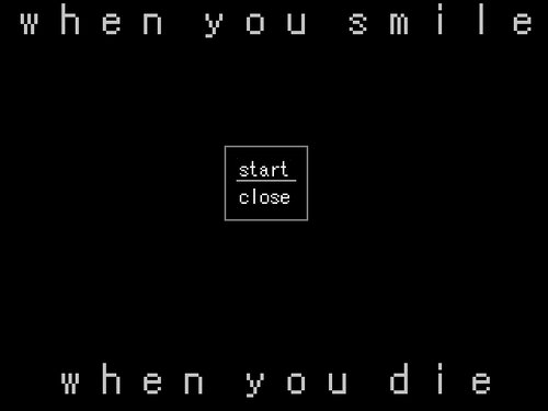 when you smile when you die Game Screen Shot2
