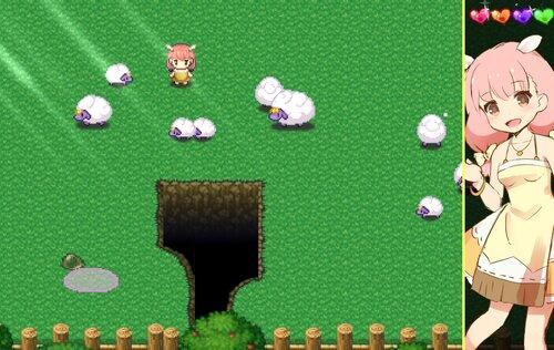 ひつじのやつ(ピックニックの夢エリア) Game Screen Shot