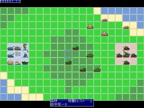 戦姫大戦(略) Game Screen Shot1