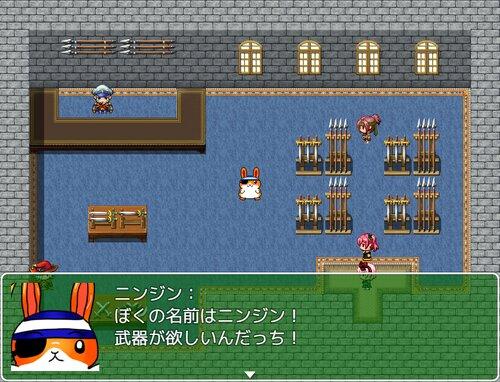 女装主人公と少女VSお菓子 Game Screen Shot4