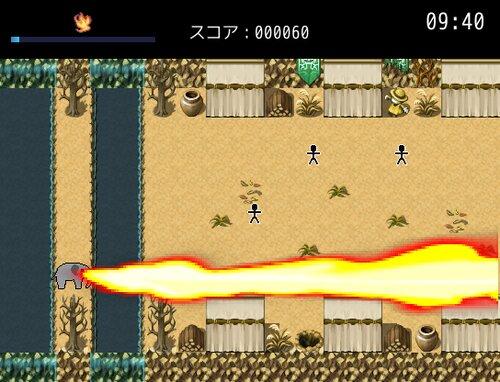 ニンゲンを滅ぼすゾウ Game Screen Shot