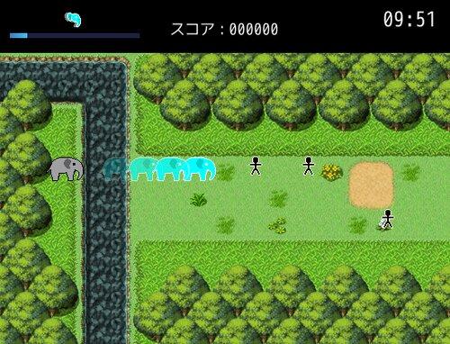 ニンゲンを滅ぼすゾウ Game Screen Shot2