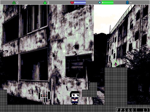 ウサギ少女と記憶の廃墟 Game Screen Shot1