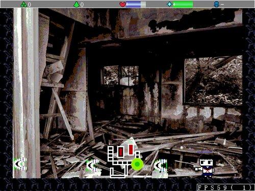 ウサギ少女と記憶の廃墟 Game Screen Shot3