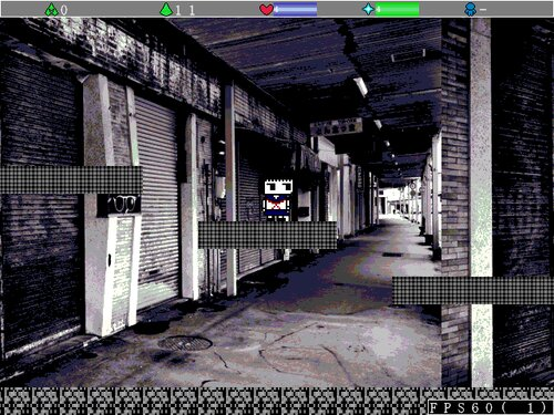 ウサギ少女と記憶の廃墟 Game Screen Shots