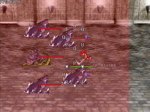 タイピングマスター格闘【男無双打】 Game Screen Shot3