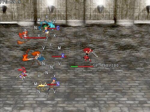 タイピングマスター格闘【男無双打】 Game Screen Shots