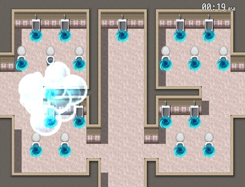 トイレコントロール Game Screen Shot3