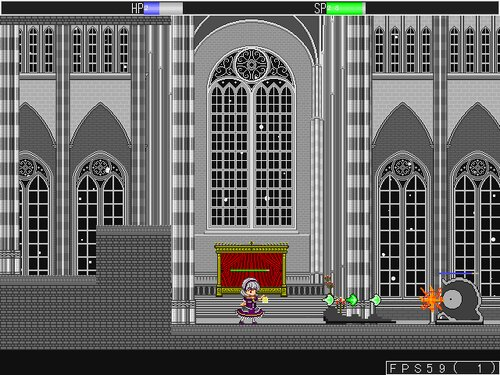 氷冥界の案内人 Game Screen Shot