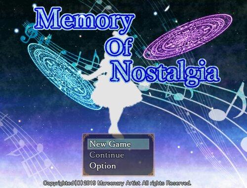 Memory Of Nostalgia(体験版) Game Screen Shot5